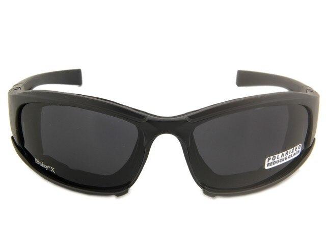 MARGARIDA 4LS X7 Óculos De Camuflagem Militar Homens Polarizada Óculos de Sol  Óculos de Tiro Airsoft Motocicleta Ciclismo Óculos à prova de Bala- b5dc36dad4