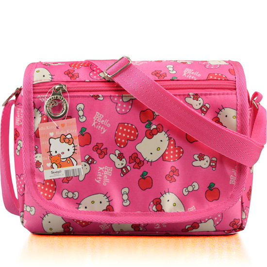 Fashion Children Cartoon Hello Kitty Oxford Shoulder Bags Girls Cute  Shoulder Bag Mini Handbag Women High Quality Crossbody Bag-in Shoulder Bags  from ... 2df9d2b326946