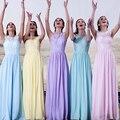 Luz azul roxo azul da dama De honra Vestido De Madrinha roxo Vestido De Festa De Casamento Vestido longo