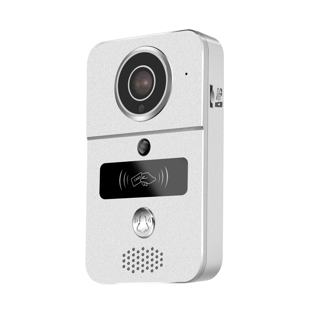 Купить с кэшбэком New Home security Camera WIFI Door bell Video door phone system RFID card unlock Support IOS Andirod Apps control smart home