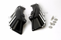 Motorcycle Mid Frame Air Deflector cover For Harley Touring Road King Electra Street Glide 09 Up