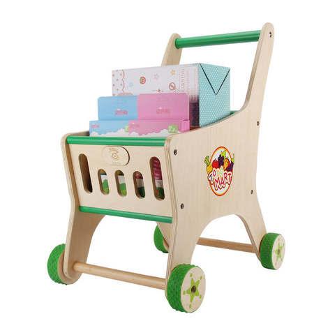 Us 10919 9 Offbaby Walkers Activity Gear Baby Toys Wooden Kids Walker Kids Shopping Cart Walkers 54531543 Cm Hot New In Walkers From Mother