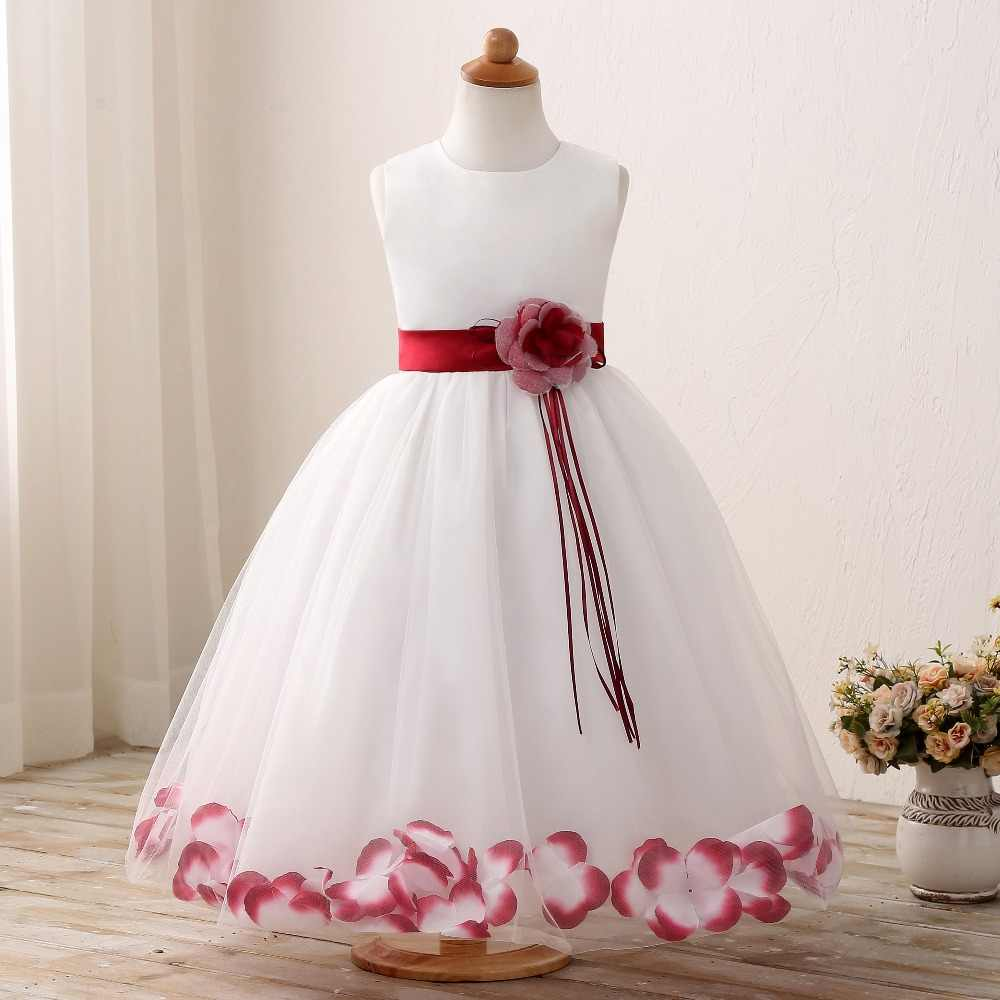 501ea13bc Detail Feedback Questions about Petal Princess Girl New Dress ...