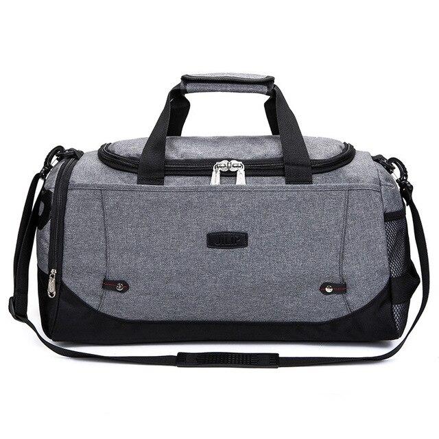 61cf7d3438 GYKZ Large Capacity Travel Shoulder Bag Duffle Bag For Women Men Waterproof  Nylon Fitness Gym Bag New Outdoor Sport Bag HY132