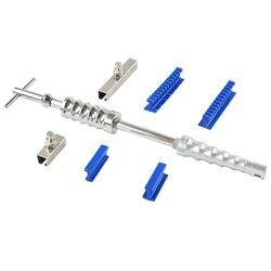 PDR strumenti di riparazione Auto ammaccatura strumenti Centipede Curvo Variety Pack Flessibile Smooth Piega Colla Tabs paintless dent kit di rimozione