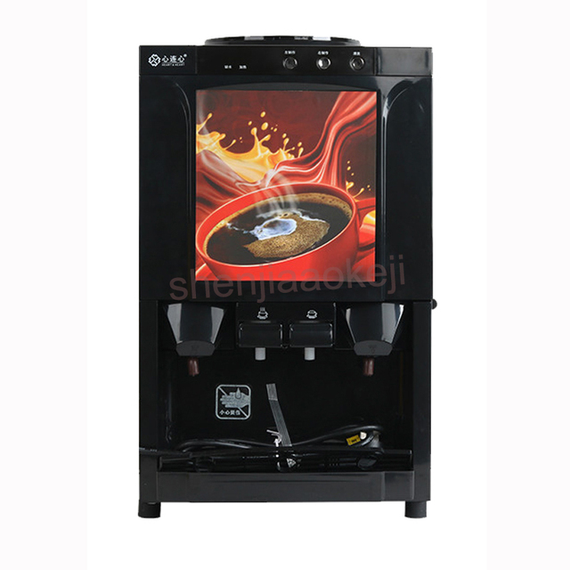 Household Automatic  Milk-tea coffee machine hot  beverage machine drinking fountains small desktop instant coffee machine