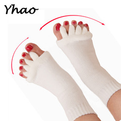 yhao new women s pilates fitness massage socks open toe socks breathable toe yoga socks.jpg 250x250