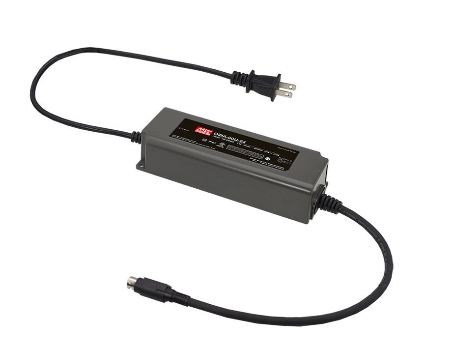 [PowerNex] MEAN WELL original OWA-90U-24-P1M 24V 3.75A meanwell OWA-90U 24V 90W Single Output Moistureproof Adaptor USA Type