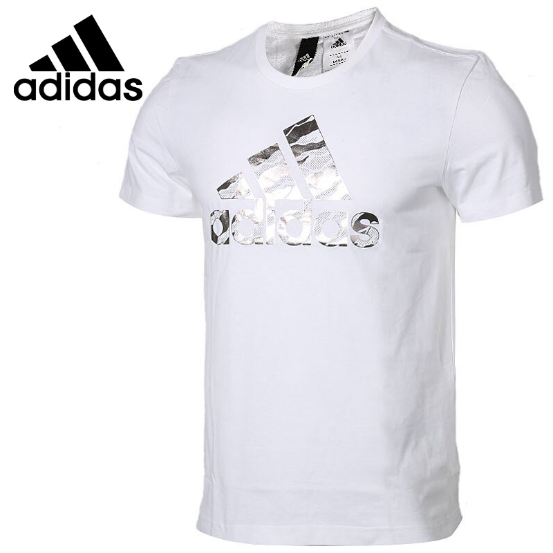 Original New Arrival 2018 Adidas BOS FOIL CAMO Men's T-shirts short sleeve Sportswear