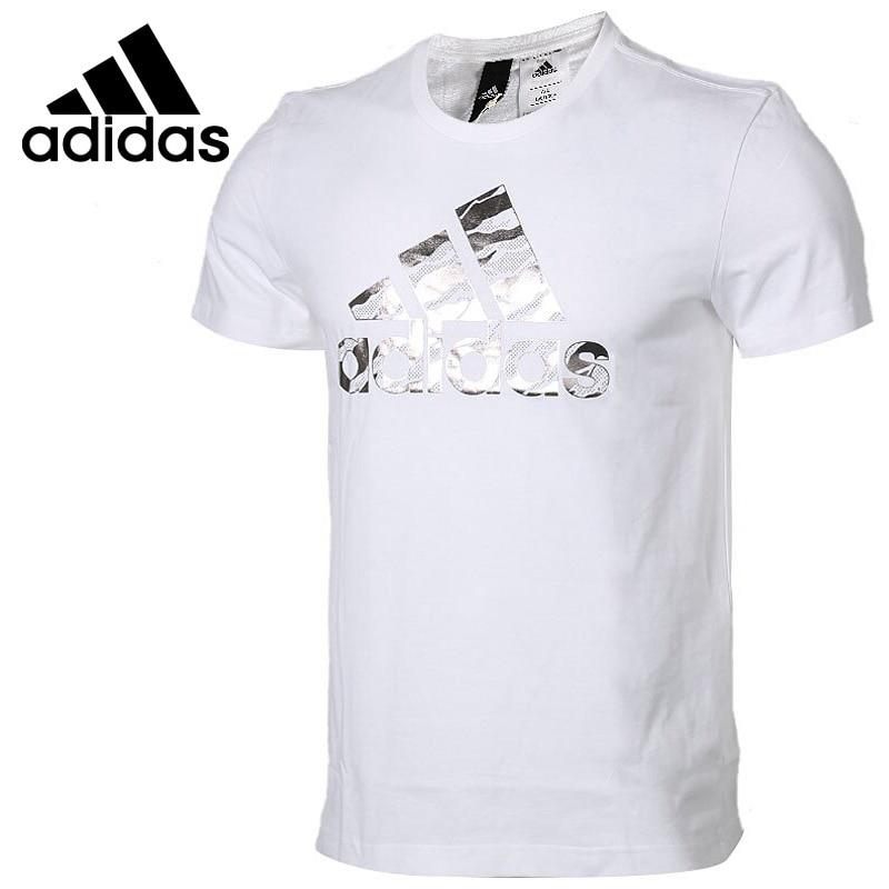 Original New Arrival 2018 Adidas BOS FOIL CAMO Men's T-shirts Short Sleeve Sportswear