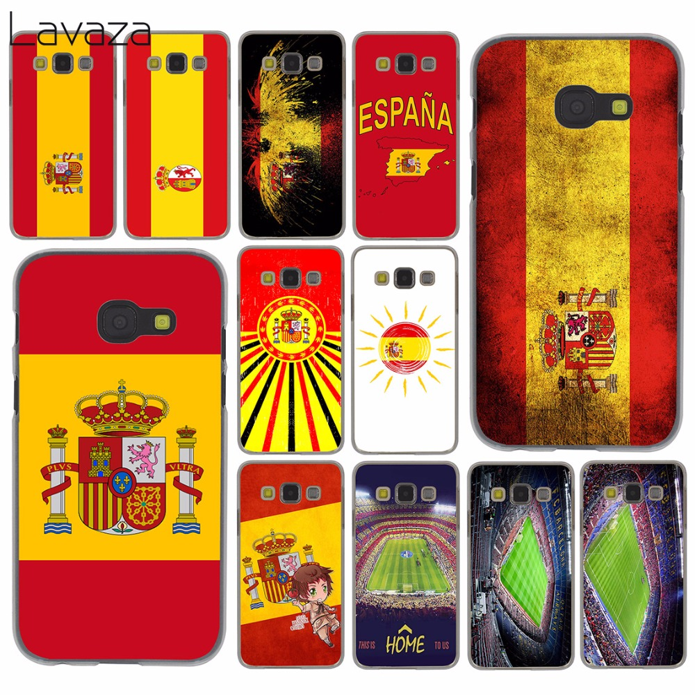Lavaza Spain Spanish flag camp nou Case for Samsung Galaxy A3 A5 A7 A8 2015 2016 2017 2018 Note 8 5 4 3 2 Grand Prime