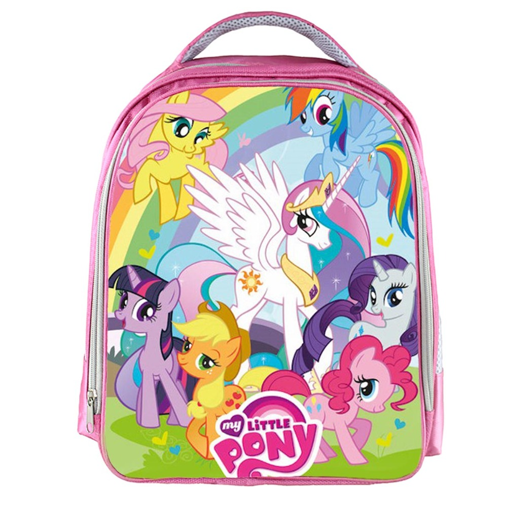 3dbfd546041b Купить 2018 My little pony Magic школьные ранцы милые дети Малый Сумка для  школы или детского сада повседневное Ортопедические Рюкзак для обувь  мальчиков ...