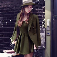 Original 2017 Brand Suit Women Plus Size Spring Slim Elegant Casual Army Green Blazer Women