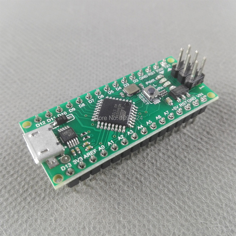 100pcs Nano 30 Controller Compatible With For Arduino Atmega 328 Ch340g Atmega328 Series Ch340 Usb Driver No Cable In Integrated Circuits From
