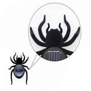 Модные детские игрушки пластиковая Солнечная энергия муравей тараканов паук черепаха Краб Бабочка Насекомое учение ребенок игрушка подар...