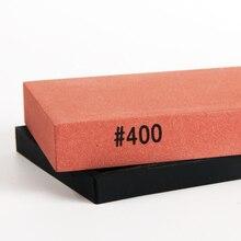 400 # grit grueso whetstone afilador de cuchillos de piedra de afilar herramientas de afilado para un knift lapidación cuchillo grinder bruñido