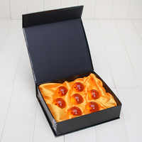 3sets 3,5 CM Dragon Ball Z New In Box DragonBall 7 Sterne Crystal Ball Set Dragon Ball Z Balls komplette set