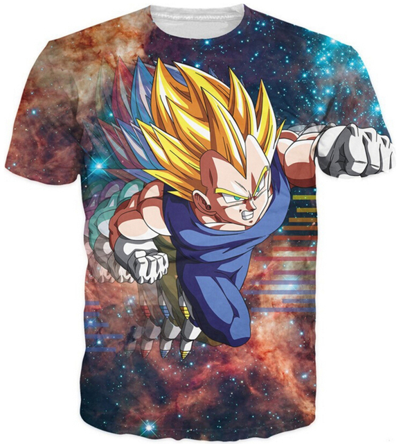 Galaxy Space Dragon Ball T-Shirt