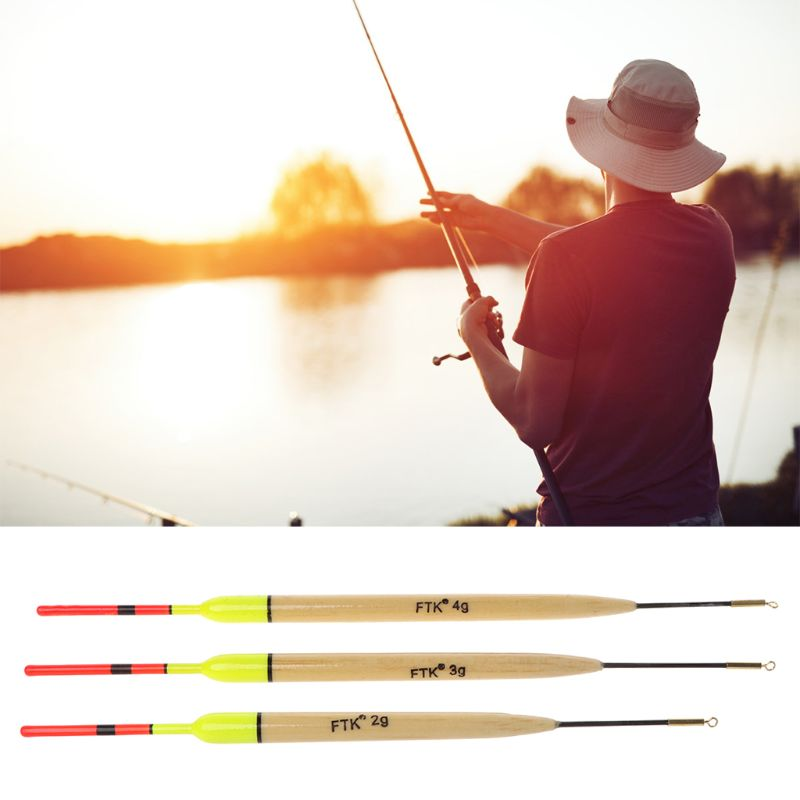 5Pcs/Lot 2g/3g/4g Weight Fishing Float Length 19.5cm-23cm Floats For Carp Accessories
