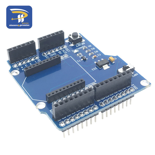 US $1 89 |Bluetooth Expansion shield V03 Compatible with Xbee Bluetooh Bee  for arduino-in Integrated Circuits from Electronic Components & Supplies on