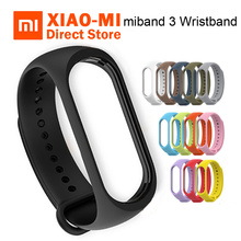 Xiaomi miband 3 mi band 3 Colorful Wristbands Smart Band Strap Strong Protective Screen Film for Xiaomi mi band 3