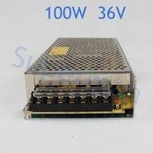 Питания 100 Вт 36 В 2.8A мощность suply блок 100 Вт 36 В мини размер din индикатор ac dc конвертер ms-100-36