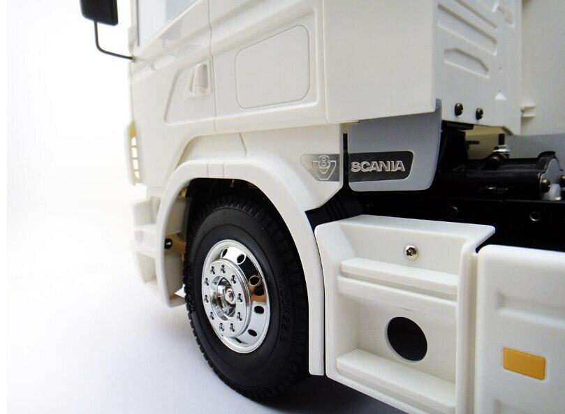 Air Spoiler for 1:14 tamiya truck SCANIA R470 R560 R620 R730 цена