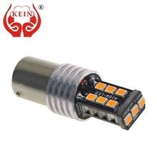 цена на 1PCS  P21w 1156 ba15s 1157 bay15d auto LED lamp 12v car light stop brake tail bulb 15 SMD 2835 canbus xenon lamp