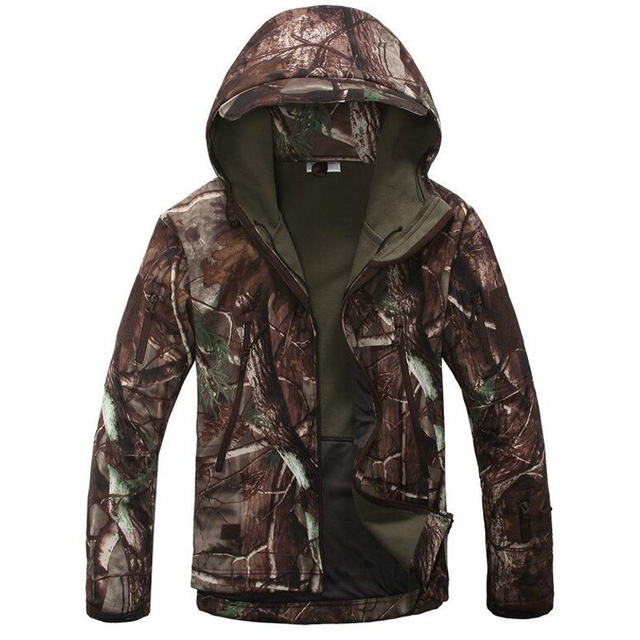Lurker Shark Skin Soft Shell TAD V4.0 OutdoorTactical Military Jacket Waterproof Windbreaker tadHunting Camouflage Warm Clothing