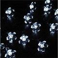 Brilhante 4 M 20 LEDs de Natal Da Flor de Cereja Levou luz Da Corda De Fadas Pêssego Flor Decorativa Decoração Do Jardim Ao Ar Livre Indoor