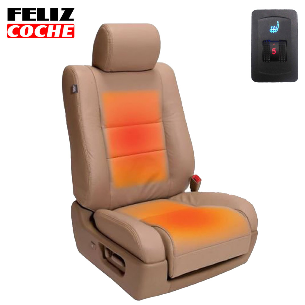 Aliexpress.com : Buy 1 Seat Car Seat Heater Universal Single Dial ...