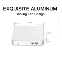 Mini PC Core i3 4010U i5 4200U i7 4500U Dual Cores 3.0Ghz Windows 10 Mini Desktop Computer Office Home PC Cooling Fan
