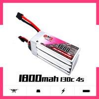 Gaoneng 1800 mAh 4S1P 14 8 V 130C/260C Schnelle Ladung Lipo Batterie mit XT60 Stecker für FPV Racing Drone quadcopter Multirotor Teil