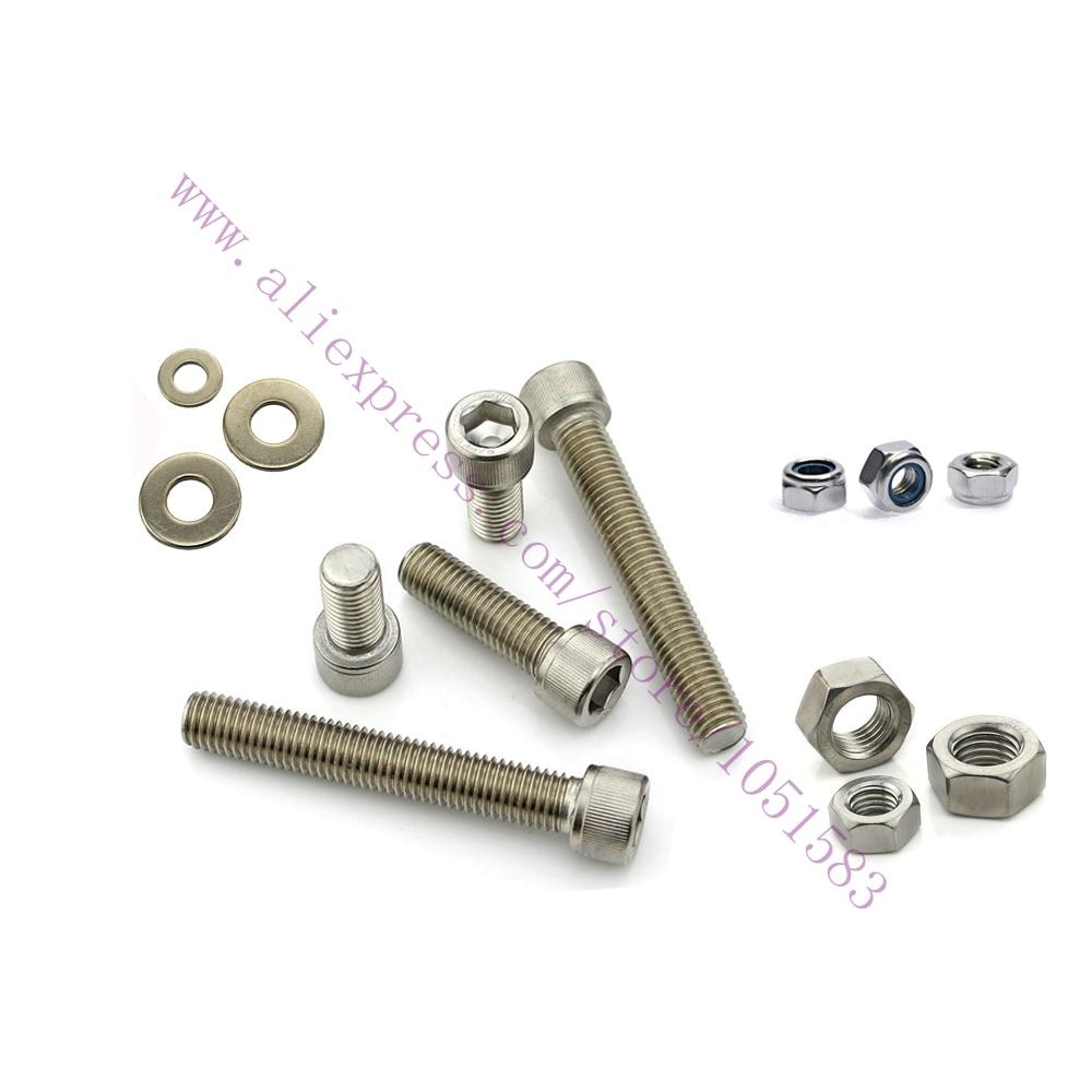 Mini Kossel Nuts, Bolts, Screws, Fasteners Kit parts for Kossel Mini DIY 3D Printer accessories