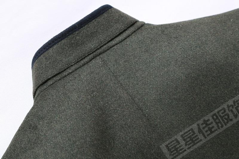 Abrigo de invierno de talla grande 10XL 8XL 6XL para hombre, ropa de marca a la moda, abrigo grueso y cálido de lana para hombre - 4