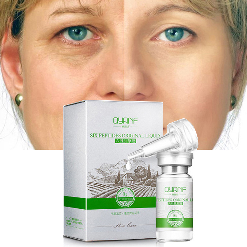 Ageless Argireline Six Peptide Whitening Cream Solution Anti Rynke Anti Aging Face Cream Fjern Ansikts Rynker Hudpleie