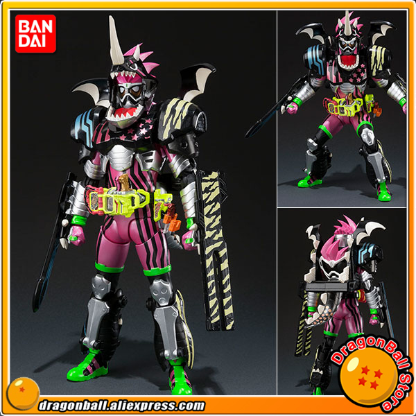 Japan Anime Original BANDAI Tamashii Nations S.H.Figuarts / SHF Action Figure - Kamen Rider Ex-Aid Hunter Action Gamer Level5