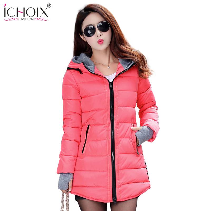 Women Winter Coat Cotton Wadded Clothing Zipper Female Hooded Thick Coats Slim Warm Parkas Pockets Ladies Outerwear Plus Size dental x ray film reader viewer digitizer scanner usb 2 0 m 95 super cam