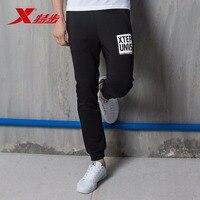 גברים XTEP הכותנה כושר אימון כושר מכנסי טרנינג אתלטים מגניב מכנסיים ספורט ריצת מכנסיים לגברים משלוח חינם 883329639265