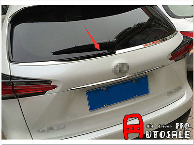 For <font><b>LEXUS</b></font> NX200T <font><b>NX300H</b></font> 2015 2016 Shiny Stainless Steel Rear Window Bottom Sill Trim 1pcs image