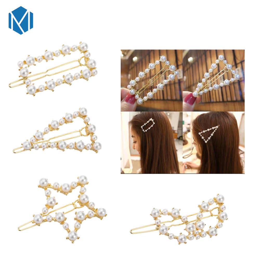 Exquisite Heart Shape Hair Accessories Banana Clips Rhinestone Ponytail Holder