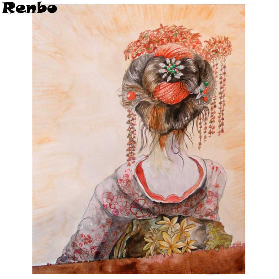 e133510631 Detail Feedback Questions about 5D square round DIY Diamond Painting  Japanese Geisha Wall Picture Daimond Crystal Embroidery Cross Stitch kits  Mosaic Home ...