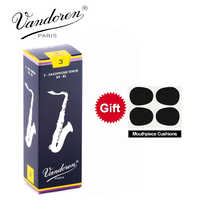 Original France Vandoren Traditional Saxophone Tenor Bb Reeds Strength 2.0# 2.5#, 3#, 3.5#, Box of 5 [[with gift]]