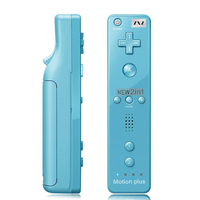 5 Color 2 In 1 Controller For Wiimote Built In Motion Plus Inside Remote Controller For