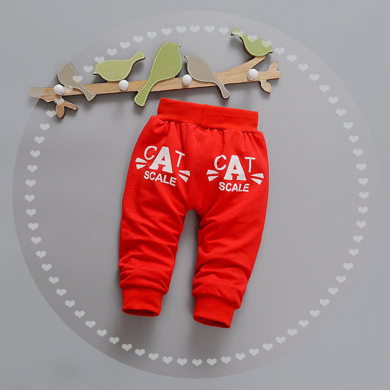 Letter Baby Pants Cotton Boys Girls Trousers Spring Autumn Boys Pants Elastic Waist Girls Trousers 2017 Baby Clothing 9-24Months (22)
