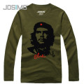 CHE GUEVARA Long Sleeve Men T-Shirt American Film Che Guevara Male Fall Fashion Casual Cotton Camisa Masculina T shirt A1478