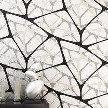 Nido de Pájaro beibehang Patrones Geométricos de papeles de la pared decoración para el hogar dormitorio wallpaper for living room Decoración Del Hogar 3D suelo
