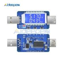 цена на QC2.0 QC3.0 4V-28V Electrical Scam Power Trigger LCD Digital USB Detector Tester Voltage Current Meter Electrical Voltage Meters