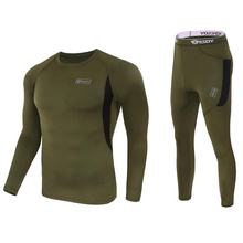 Men Cycling Base Layers Quick Dry POLARTEC Thermal Underwear Men For Riding/Climbing/Cycling