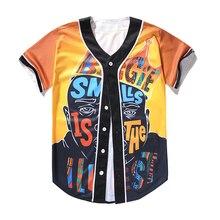 Alisister Hip Hop Singer Biggie Smalls Jersey European Mens 3D Printed Baseball  Shirt 8f491f856